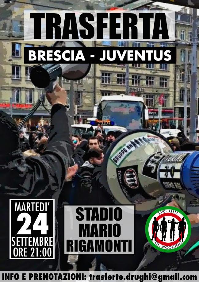 Trasferta a Brescia